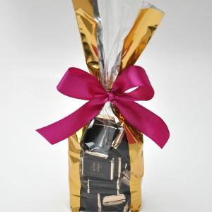 Bolsas con chocolates personalizados